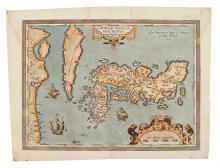 ORTELIUS, ABRAHAM. Iaponiae Insulae Descriptio. Ludoico Teisera Auctore.