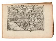ORTELIUS, ABRAHAM. Abraham Ortelius, His Epitome of the Theater of the Worlde.