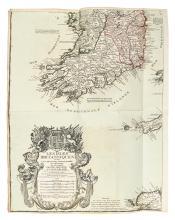 DESNOS, LOUIS CHARLES. L'Indicateur fidéle ou Guide des Voyageurs. . . de la France. [and] Nouvel Itinéraire Général Comprenant. . .