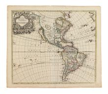 SENEX, JOHN. A New Map of America From the latest Observations.