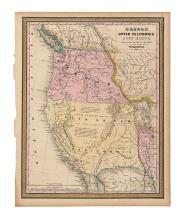 MITCHELL, SAMUEL AUGUSTUS. Oregon, Upper California, & New Mexico.