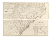 MOUZON, HENRY. An Accurate Map of North and South Carolina.