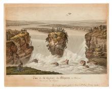 (NIAGARA.) Fuseli, Henry. Vue de la Cascade du Niagara, en Amerique.
