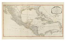 LAURIE, ROBERT; and WHITTLE, JAMES. A New and Complete Map of the West Indies Comprehending the Coasts and Islands Known by That Name.