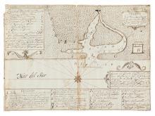 (GUATEMALA.) Plano del Puerto de Ystapa [i.e., Iztapa].