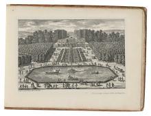 PARELLE, GABRIEL. Gezigten In Frankrijk door Parelle. [Manuscript cover title.]