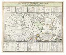 DOPPELMAYR, JOHANN GABRIEL; and HOMANN, JOHANN BAPTIST. Basis Geographiae Recentioris Astronomica.