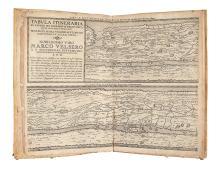 ORTELIUS, ABRAHAM; and BERTIUS, PETRUS. Tabula Itineraria ex Illustri Peutingerorum Bibliotheca.
