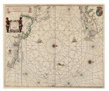 SELLER, JOHN. A Chart of the Western Ocean.