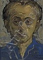 MOSES SOYER Self Portrait.