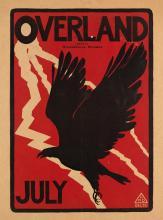 LAFAYETTE MAYNARD DIXON (1875-1946). OVERLAND JULY. 1895. 19x14 inches, 50x37 cm.