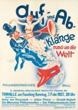 A. SEITZ (DATES UNKNOWN). AUF - UND - AB - KLÄNGE. 1937. 46x33 inches, 118x84 cm. C. Wolf Und Sohn, Munich.