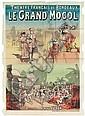 ÉMILE LÉVY (DATES UNKNOWN). LE GRAND MOGOL. 52x37 inches, 134x94 cm. Émile Lévy & Cie., Paris.