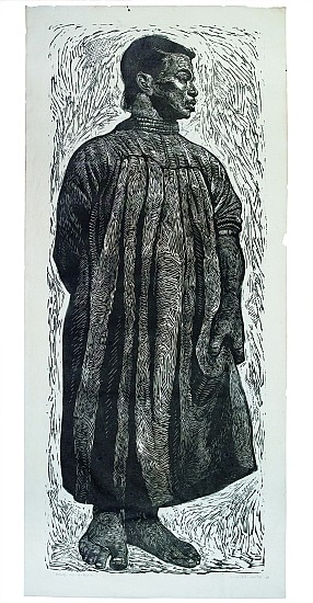 CHARLES WHITE (1918 - 1979) Solid as a Rock (My God is Rock).