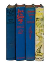 BURROUGHS, EDGAR RICE. Group of 4 First Editions.