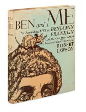 (CHILDREN'S LITERATURE.) LAWSON, ROBERT. Ben and Me: A New and Astonishing Life of Benjamin Franklin as Written by his Good Mouse Amos