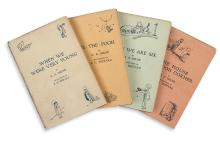 (CHILDREN'S LITERATURE.) MILNE, A.A. A Complete set of the Christopher Robin Books.