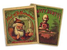 (CHILDREN'S LITERATURE.) NAST, THOMAS. Visit of St. Nicholas * The Wonderful Adventures of Humpty Dumpty. Vol. 1.