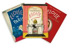(CHILDREN'S LITERATURE.) THOMPSON, KAY. Eloise * Eloise in Paris * Eloise at Christmastime.