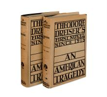 DREISER, THEODORE. An American Tragedy.