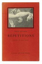 ELUARD, PAUL and ERNST, MAX. Répétitions. Dessins de Max Ernst.