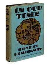 HEMINGWAY, ERNEST. In Our Time.