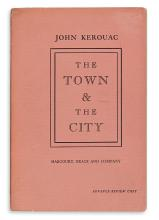 KEROUAC, JACK [as JOHN.] The Town and the City.