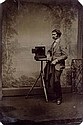 (AMERICAN TINTYPES) Collection of 179 unique and marvelous studio and