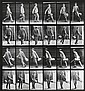MUYBRIDGE, EADWEARD (1830-1904) Walking man, from