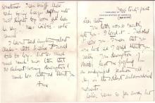 (AVIATORS.) LINDBERGH, ANNE MORROW. Autograph Letter Signed,