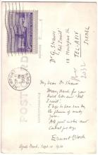 BLOCH, ERNEST. Brief Autograph Letter Signed, to Dr. G. Strauss, on a photograph postcard,