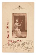 SAINT-SAËNS, CAMILLE. Autograph Quotation dated and Signed,