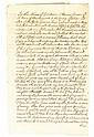 (SLAVERY AND ABOLITION--NEW YORK STATE.) Manuscript Last Will and Testament of Thomas Jansen of Shawangunk, New York.