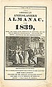 (SLAVERY AND ABOLITION--AMERICAN ANTI-SLAVERY SOCIETY.) The American Anti-Slavery Almanac for 1839. Volume 1, no. 4.