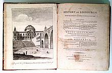 ARNOT, HUGO. The History of Edinburgh, from the Earliest Accounts to the Present Time.  1788