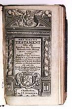 BIBLE IN DUTCH.  Het Nieuwe Testament.  1668