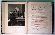 BOSWELL, JAMES. The Life of Samuel Johnson, LL.D.
