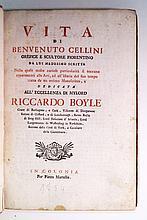 CELLINI, BENVENUTO. Vita . . . da lui medesimo scritta.  1792