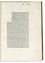 CURTIUS RUFUS, QUINTUS. Historiae Alexandri Magni.  1471.  The Earl of Pembroke's copy, bound for him.