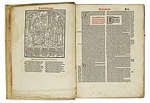 LAW  BONIFACE VIII, Pope. Sexti libri materia cum capitulorum numero.  Bound with 3 other canon law works.  1506
