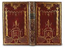 SCOTT, JAMES, bookbinder.  Milton, John. Paradise Lost.  1770.  In contemporary red morocco lavishly gilt by Scott.