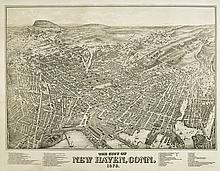 BAILEY, O.H.; and HAZEN, J.C. The City of New Haven, Conn. 1879.