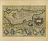 (CYPRUS.) Mercator, Gerard; and Hondius, Henricus. Cyprus Ins.