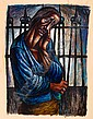 CHARLES WHITE (1918 - 1979) Hope Imprisoned.