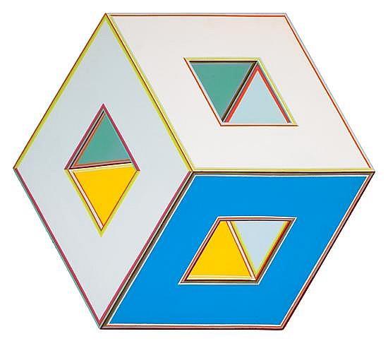 ALVIN D. LOVING, JR. (1935 - 2005) Cube 27.