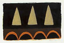 DUNCAN GRANT Archer: Design for a Vase.