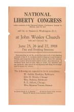 NATIONAL LIBERTY CONGRESS. Representing . . . more than one tenth of the fighting strength of the U.S.