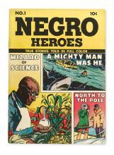 NATIONAL URBAN LEAGUE. Negro Heroes, Volume 1, Number 1.
