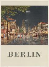 SIGNATURE ILLEGIBLE. BERLIN. 1955. 32x24 inches, 82x61 cm. Thormann & Goetsch, Berlin.