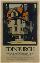 FRED TAYLOR (1875-1963). EDINBURGH. 1930. 39x24 inches, 100x62 cm. Adams Bros. & Shardlow, Ltd., London.